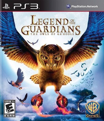 Legend of the Guardians: The Owls of Ga'Hoole PS3 coverM (BLUS30469)
