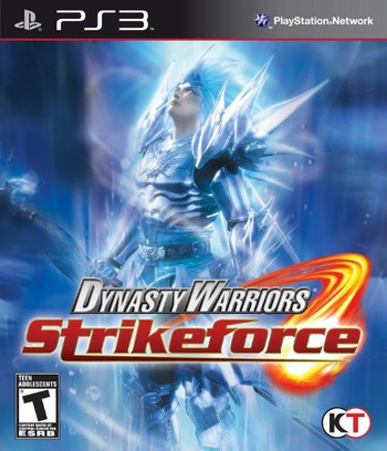 Dynasty Warriors: Strikeforce PS3 coverM (BLUS30471)