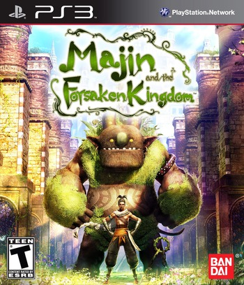Majin and the Forsaken Kingdom PS3 coverM (BLUS30472)