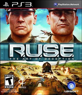 R.U.S.E. PS3 coverM (BLUS30478)