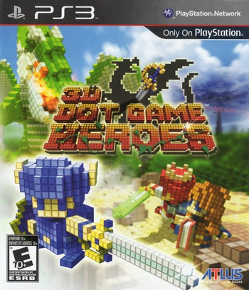 3D Dot Game Heroes PS3 coverM (BLUS30490)