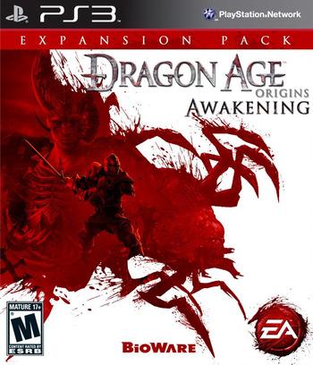 Dragon Age: Origins - Awakening PS3 coverM (BLUS30509)