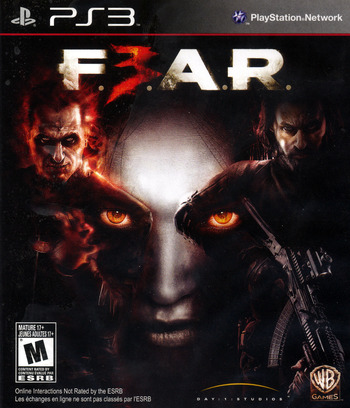 F.E.A.R. 3 PS3 coverM (BLUS30511)