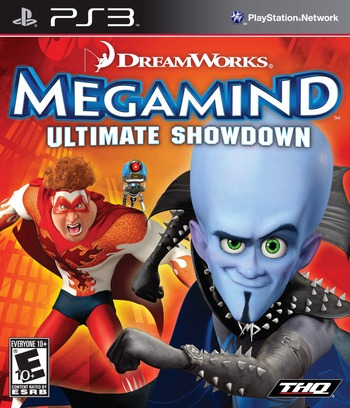 Megamind: Ultimate Showdown PS3 coverM (BLUS30518)