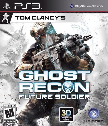 Tom Clancy's Ghost Recon: Future Soldier PS3 coverM (BLUS30521)