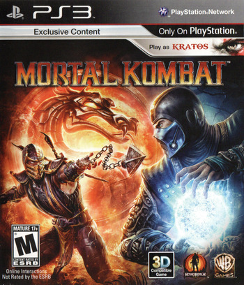 Mortal Kombat PS3 coverM (BLUS30522)