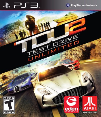 Test Drive Unlimited 2 PS3 coverM (BLUS30527)