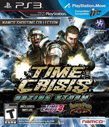 Time Crisis: Razing Storm PS3 coverM (BLUS30528)