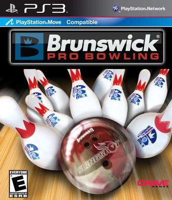 Brunswick Pro Bowling PS3 coverM (BLUS30532)