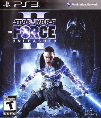 Star Wars: The Force Unleashed II PS3 coverM (BLUS30534)