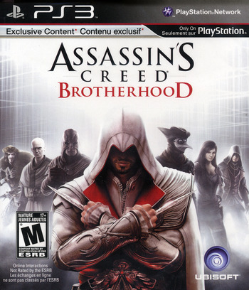 Assassin's Creed: Brotherhood PS3 coverM (BLUS30537)