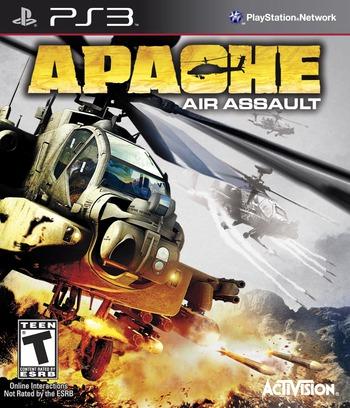 Apache: Air Assault PS3 coverM (BLUS30555)