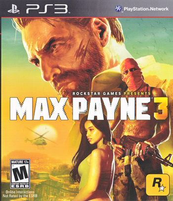 Max Payne 3 PS3 coverM (BLUS30557)