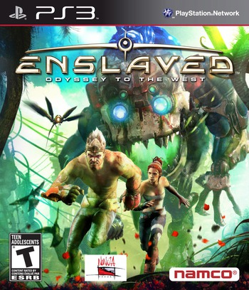 Enslaved: Odyssey to the West PS3 coverM (BLUS30558)