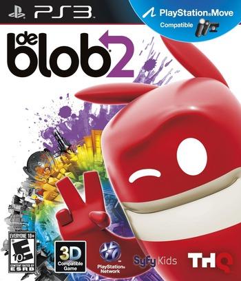 de Blob 2 PS3 coverM (BLUS30559)