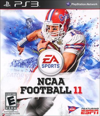 NCAA Football 11 PS3 coverM (BLUS30560)