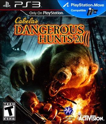 Cabela's Dangerous Hunts 2011 PS3 coverM (BLUS30563)