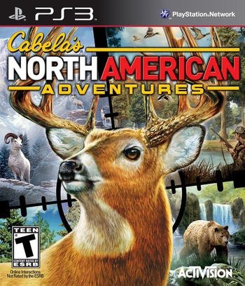Cabela's North American Adventures PS3 coverM (BLUS30564)