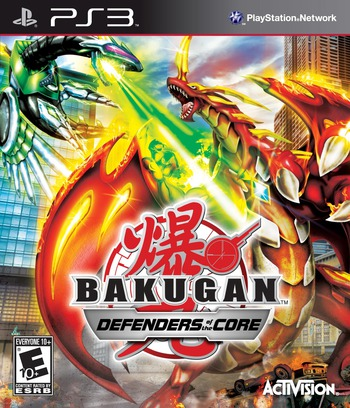 Bakugan: Defenders of the Core PS3 coverM (BLUS30577)