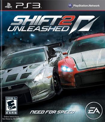Shift 2: Unleashed PS3 coverM (BLUS30580)