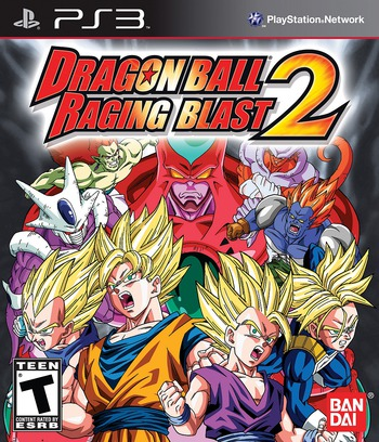 Dragon Ball Raging 2 PS3 coverM (BLUS30581)