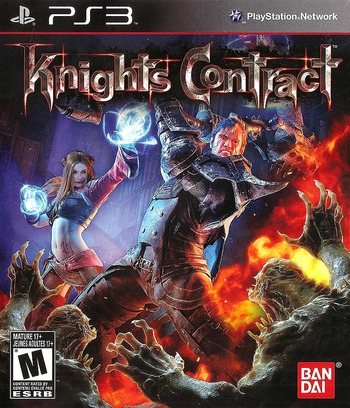 Knights Contract PS3 coverM (BLUS30582)