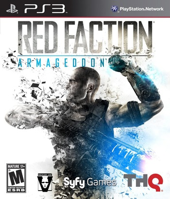 Red Faction: Armageddon PS3 coverM (BLUS30585)