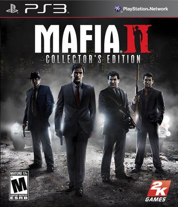 Mafia II (Collector's Edition) PS3 coverM (BLUS30598)