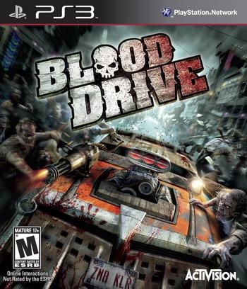 Blood Drive PS3 coverM (BLUS30602)