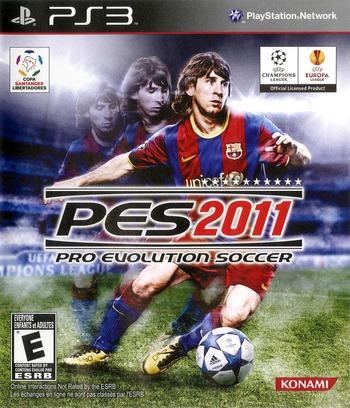 Pro Evolution Soccer 2011 PS3 coverM (BLUS30610)
