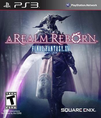 Final Fantasy XIV Online: A Realm Reborn PS3 coverM (BLUS30611)