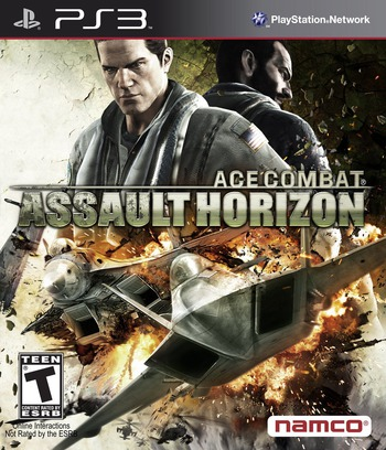 Ace Combat: Assault Horizon PS3 coverM (BLUS30613)