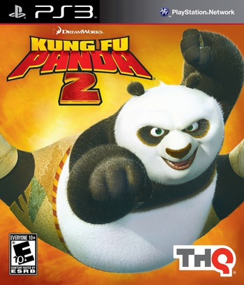 Kung Fu Panda 2 PS3 coverM (BLUS30634)