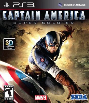 Captain America:Super Soldier PS3 coverM (BLUS30642)