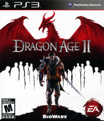 Dragon Age II PS3 coverM (BLUS30645)