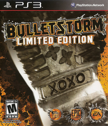 Bulletstorm PS3 coverM (BLUS30651)