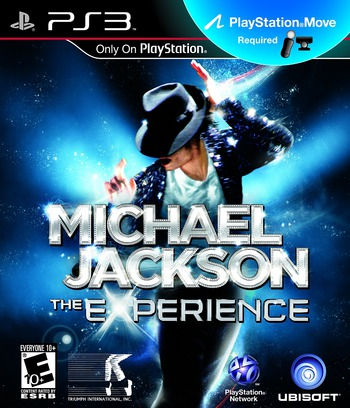 Michael Jackson: The Experience PS3 coverM (BLUS30697)