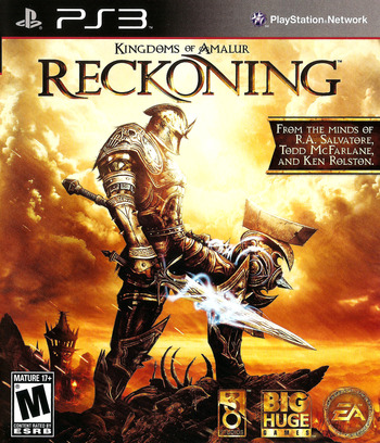 Kingdoms of Amalur: Reckoning PS3 coverM (BLUS30710)