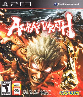 Asura's Wrath PS3 coverM (BLUS30721)