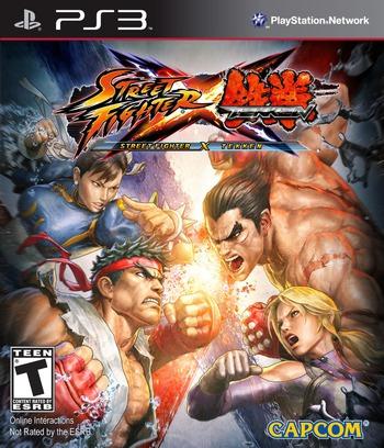 Street Fighter X Tekken PS3 coverM (BLUS30722)
