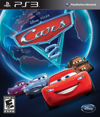 Cars 2: The Video Game PS3 coverM (BLUS30725)
