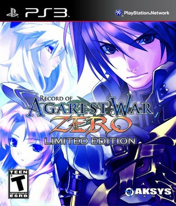Record of Agarest War Zero (Limited Edition) PS3 coverM (BLUS30748)