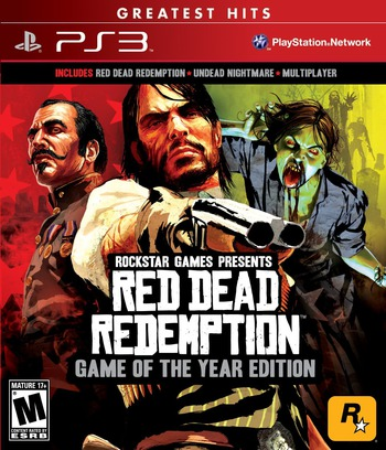 Red Dead Redemption: Game of the Year Edition PS3 coverM (BLUS30758)