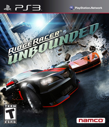 Ridge Racer Unbounded PS3 coverM (BLUS30777)