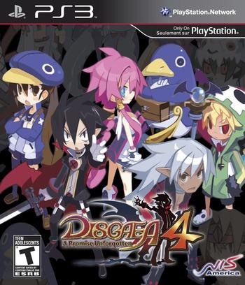 Disgaea 4: A Promise Unforgotten (Premium Edition) PS3 coverM (BLUS30783)