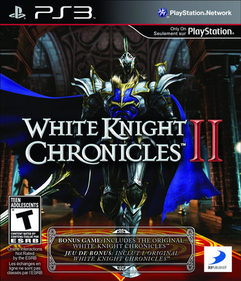 White Knight Chronicles II PS3 coverM (BLUS30784)