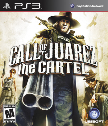 Call of Juarez: The Cartel PS3 coverM (BLUS30795)