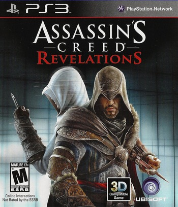 Assassin's Creed: Revelations PS3 coverM (BLUS30808)