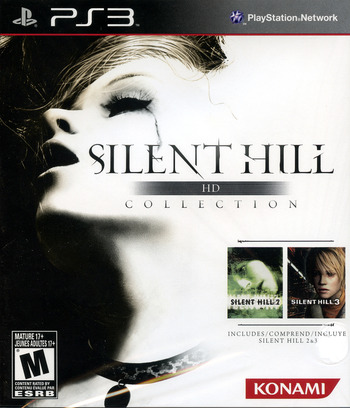 Silent Hill: HD Collection PS3 coverM (BLUS30810)