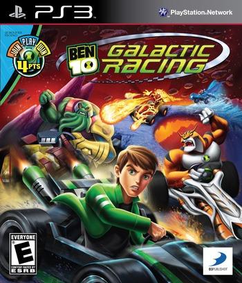 Ben 10:Galactic Racing PS3 coverM (BLUS30822)